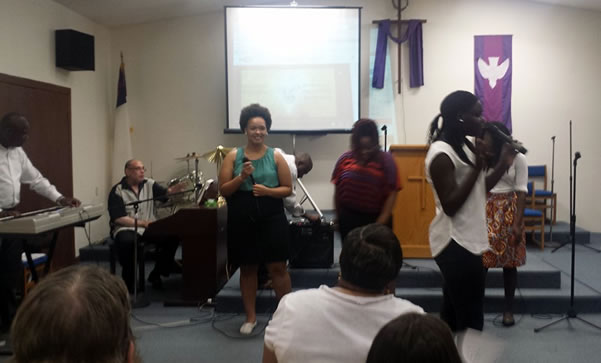 Promised Land worship team